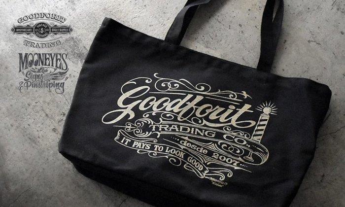 GOODFORIT / Goodforit x Mooneyes Wildman Desde Tote十週年限定托特包款