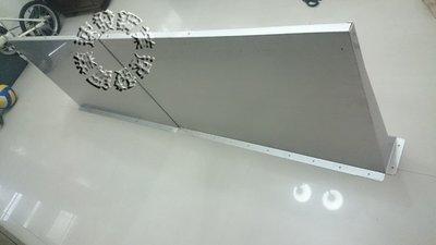 速發~新型第四代不鏽鋼遮雨板60*200cm~(正白鐵304#)~DIY晴雨棚 /窗戶 遮雨棚 冷氣 專用 窗型雨遮