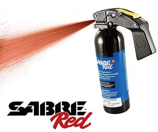 【犀利防衛】美國Sabre沙豹防身噴霧-泡沫鎮暴型YS-92H2O60-F
