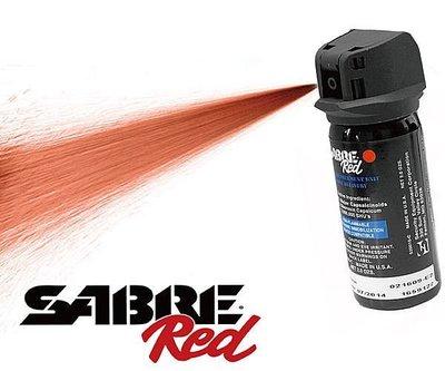 【犀利防衛】美國Sabre沙豹防身噴霧-執法氣柱型YS-520010-C