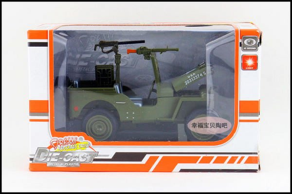 萬寶 1:32 Jeep Wrangler 吉普 牧馬人 越野軍車 聲光回力車 現貨
