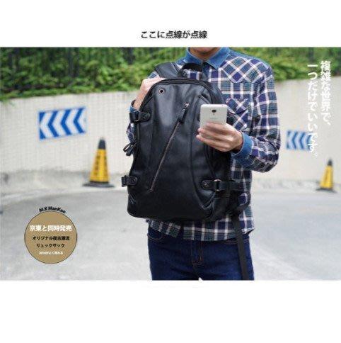 男士 潮流背包 大容量雙肩包 休閒旅行包電腦包 M51
