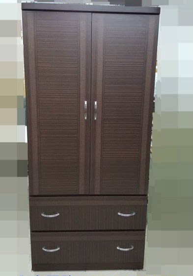 全新庫存家具賣場  康乃馨衣櫃 胡桃木衣櫥 收納斗櫃*庫存臥室家具床組 床架床墊
