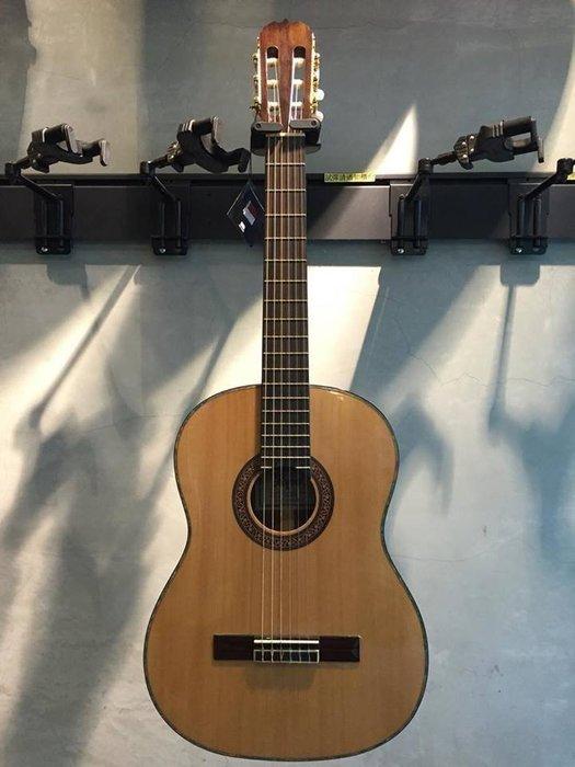 【六絃樂器】全新精選 Hofma FC-395S 雲杉木單板高級古典吉他 / 附配件