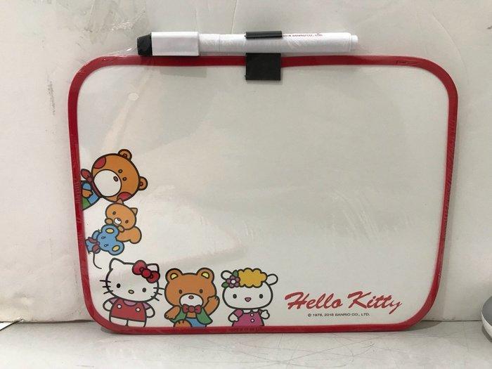 Hello Kitty KT小白板附筆擦(紅粉隨機出)4713791963558