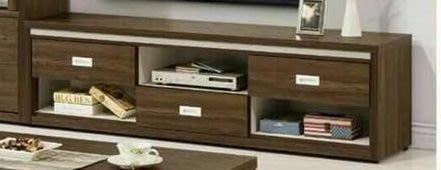 二手家具 台中 樂居全新中古家具買賣 OH2362CI*全新凱利胡桃電視櫃 平面TV櫃 矮櫃 收納櫃*零碼客廳家具 沙發