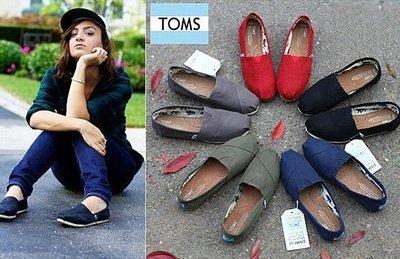 TOMS美國正品 Canvas Classics經典帆布鞋 休閒鞋 樂福鞋 男女情侶款平底鞋
