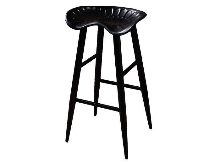 【DH】商品貨號N991-6商品名稱《可庫拉》黑腳吧台椅(圖一)簡約雅緻經典。主要地區免運費