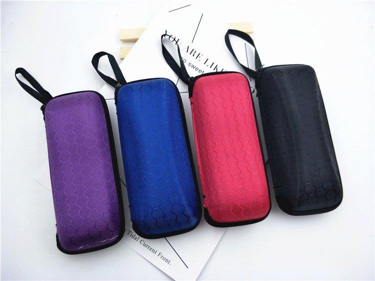 [Mife]方形眼鏡盒彩色鏡布 墨鏡盒抗壓盒拉鍊盒太陽配件布袋特價批發限有購買眼鏡的