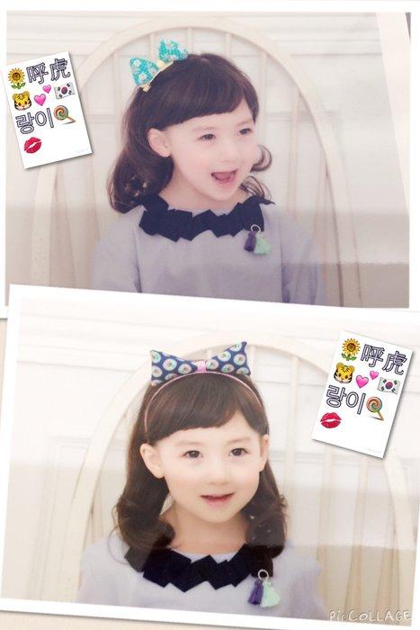 ※特價※『韓國流行飾品』小花布髮夾(머리핀)、小花布髮箍(머리띠)