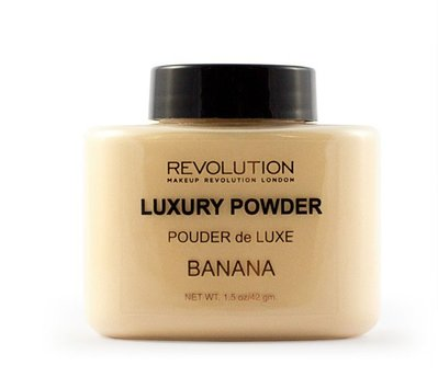 【愛來客 】英國Makeup Revolution Luxury Banana Powder 香蕉蜜粉