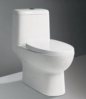 虹吸式單體馬桶  D-2184 成舍衛浴 馬桶 緩降馬桶蓋