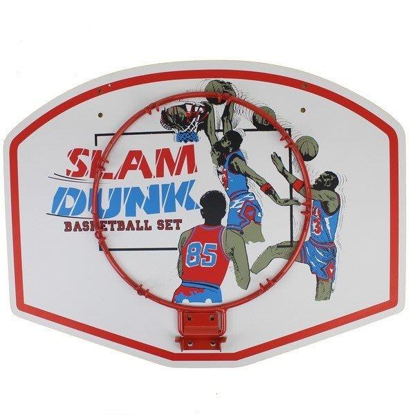 中型籃球板+籃框 木板籃球框 MIT製/一組入{促499}DIY球框 籃板 籃球架~群Z-128