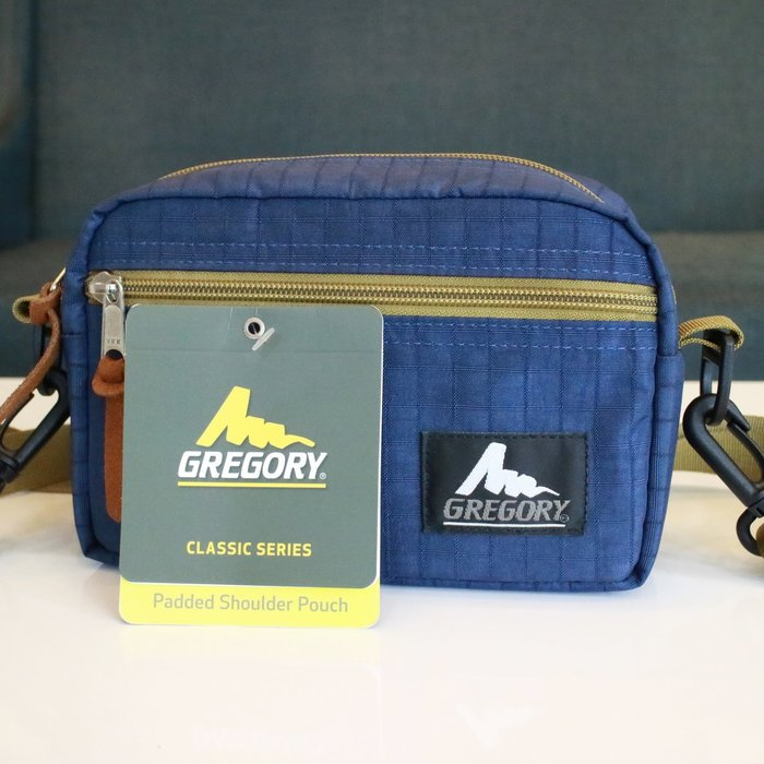 現貨 可自取 GREGORY PADDED SHOULDER POUCH S 2L 藍色 斜背包 肩背包 GM74616