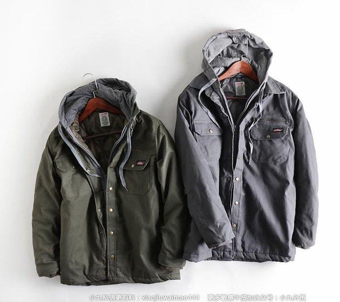香港OUTLET代購 新款D男外套 夾克 耐磨帆布工裝棉衣 連帽拉鏈扣子 戶外休閒夾克 運動外套