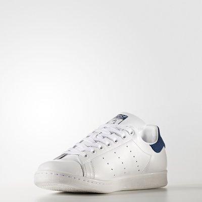 ADIDAS Original STAN SMITH 藍白 復古 休閒 運動鞋 日韓 女鞋 街頭 BZ0483 YTS