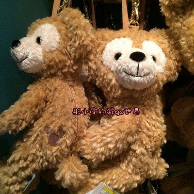 達菲熊Duffy側臉吊飾包 側掛 手拿包 日本海洋迪士尼~彤小皮的遊go世界
