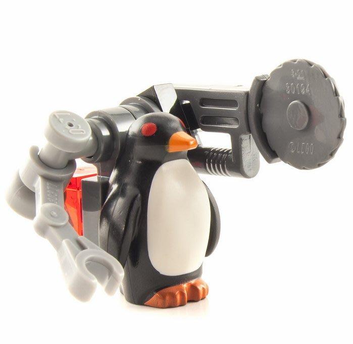 現貨【LEGO 樂高】全新正品 積木/ 蝙蝠俠電影系列: 蝙蝠洞 70909   單一人偶: 紅眼企鵝+武器
