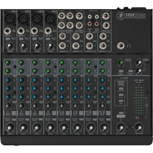 【六絃樂器】全新 Mackie 1202VLZ4 12軌 混音器 / 舞台音響設備 專業PA器材