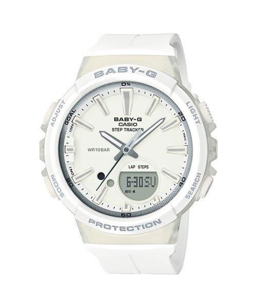 【元電】【CASIO  BABY-G】BGS-100-7A1 計步功能 聲效提醒 慢跑運動錶 BGS-100