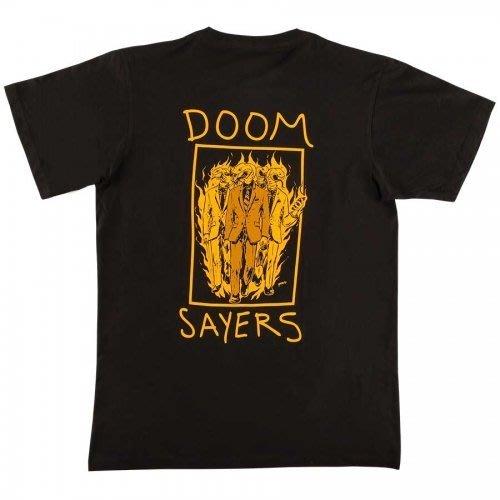 《Nightmare 》DoomSayers Club Snake Phone T-shirt - Black