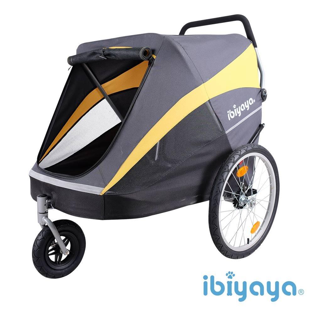 IBIYAYA依比呀呀-FS1780 黃金巴士充氣胎寵物推車【免運】