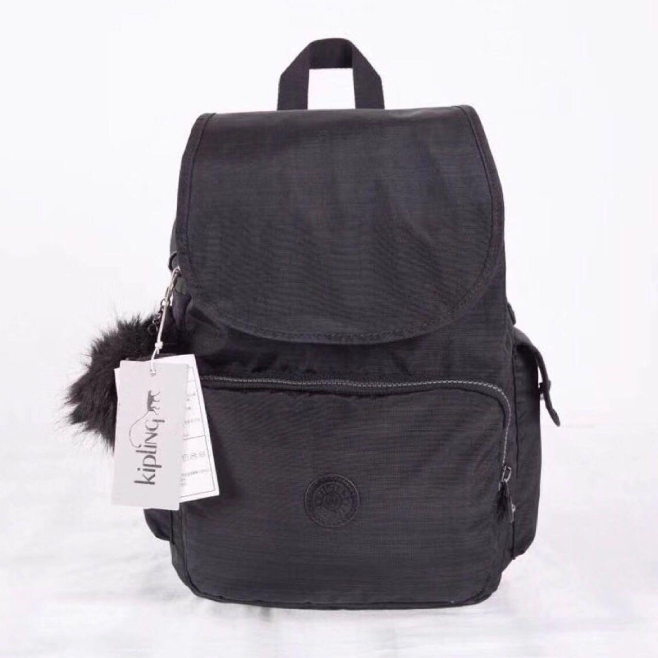 Kipling 猴子包 亞麻黑 多用輕量雙肩後背包 旅行 防水 限時優惠
