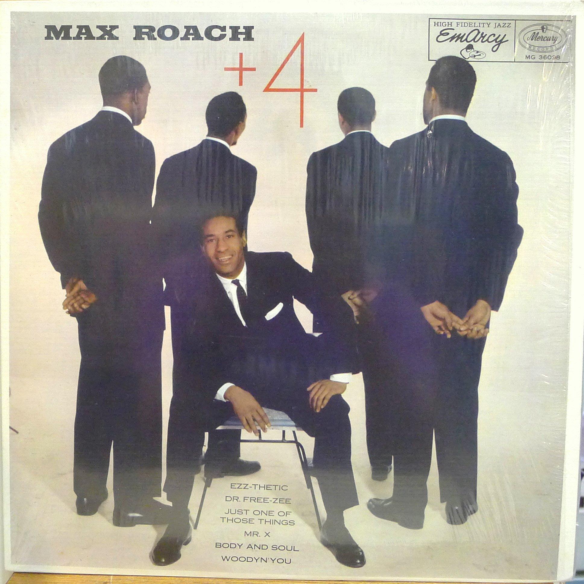 §小宋唱片§美版/MAX ROACH - + 4/二手爵士黑膠/MONO