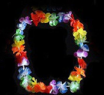【洋洋小品草裙舞夏威夷花圈花環】熱情夏威夷草裙舞/呼啦舞/大溪地舞/迎賓舞會表演小蘋果裝扮服