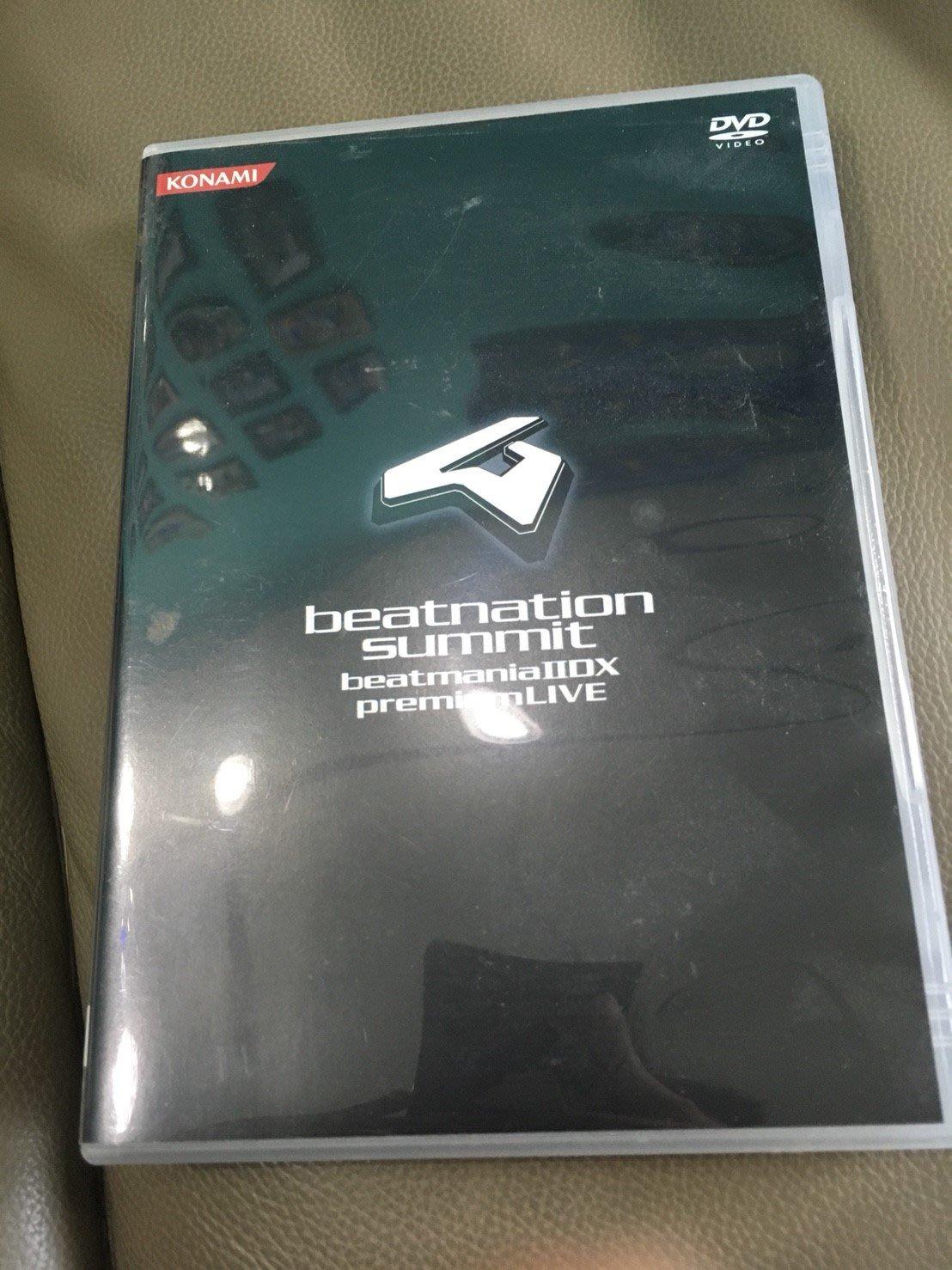 全新 beatnation summit beatmania IIDX premium LIVE KONIMA DVD 狂熱節拍IIDX 演唱會