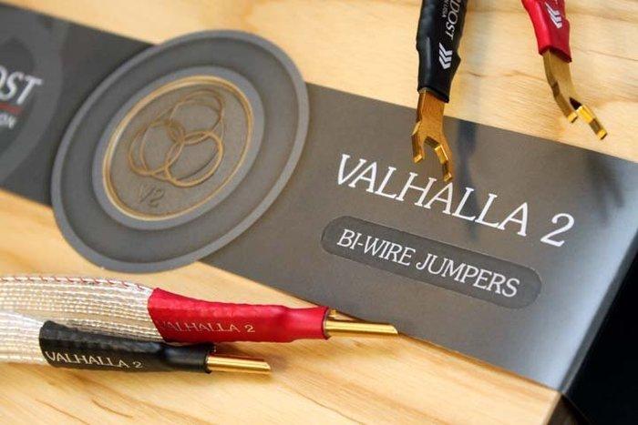 "【音逸音響】次旗艦!喇叭跳線/接地》美國Nordost Valhalla2 Bi-Wire Jumpers(13.5"")"