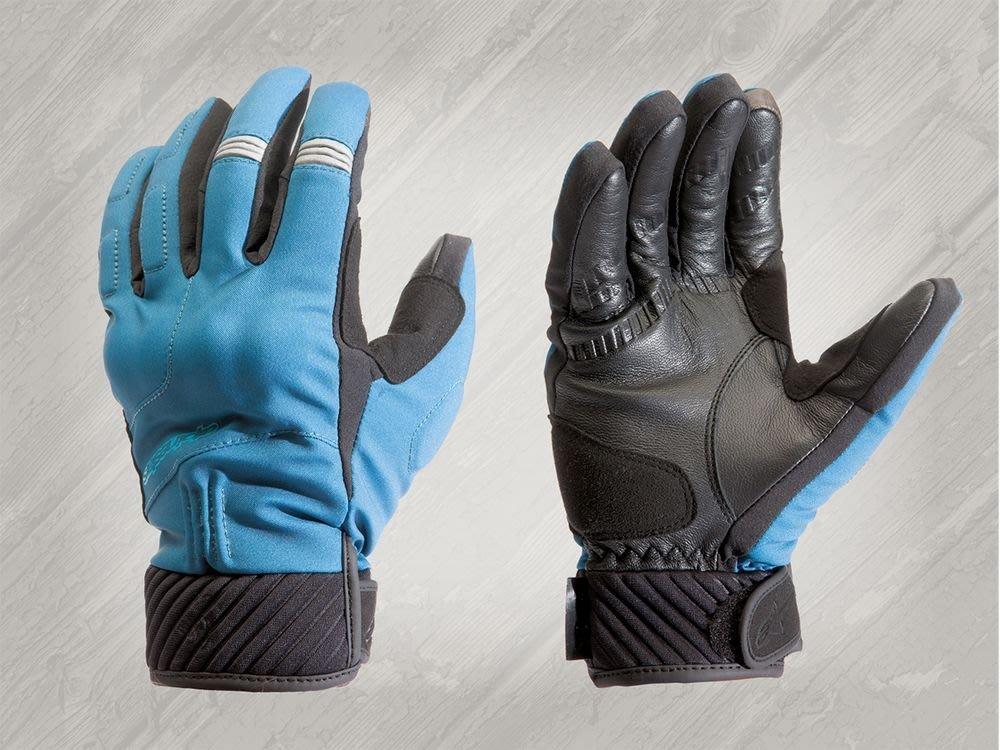 ALPINESTARS YARI DRYSTAR  防水 防寒 觸控  保暖 手套 藍  XL