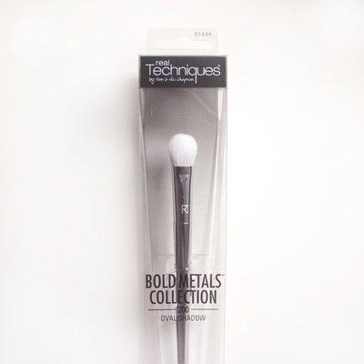【愛來客 】英國Real Techniques Oval Shadow 200 銀色桿眼影暈染刷化妝刷 1444#