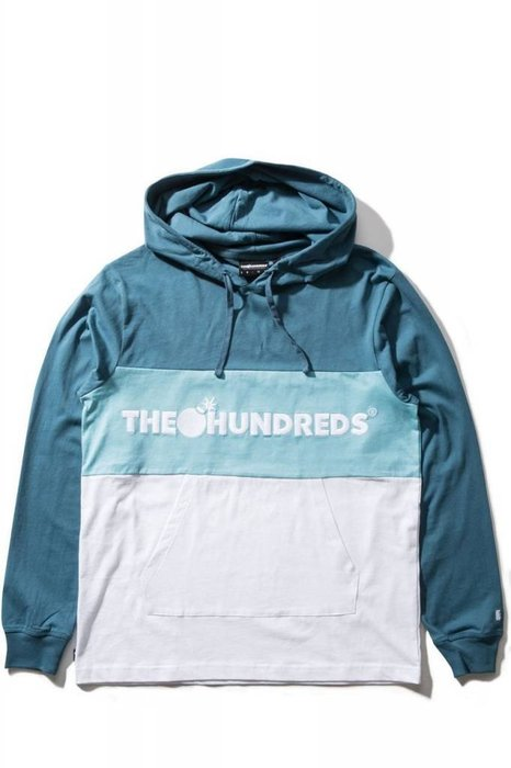 【HOPES】THE HUNDREDS DECK HOODED-SLATE