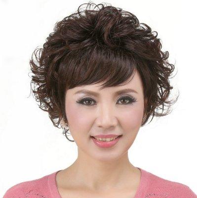 水媚兒假髮7M086♥新款女士假髮 氣質款 短捲髮♥ 現貨或預購 團購批發