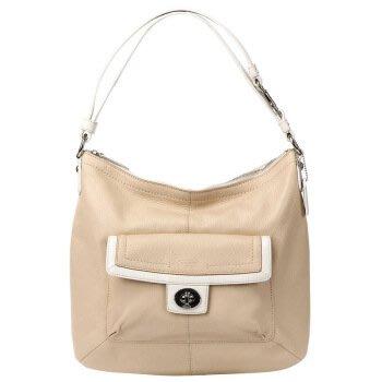 COACH 女  Penelope 真皮杏色 肩背包 手提包 全新 現貨