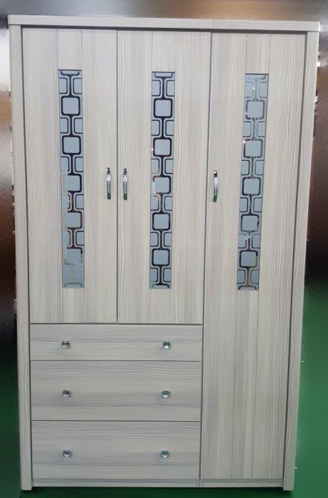 全新庫存家具賣場 *C0202EJH法妮斯白橡衣櫃* 臥室家具 化妝台 床組