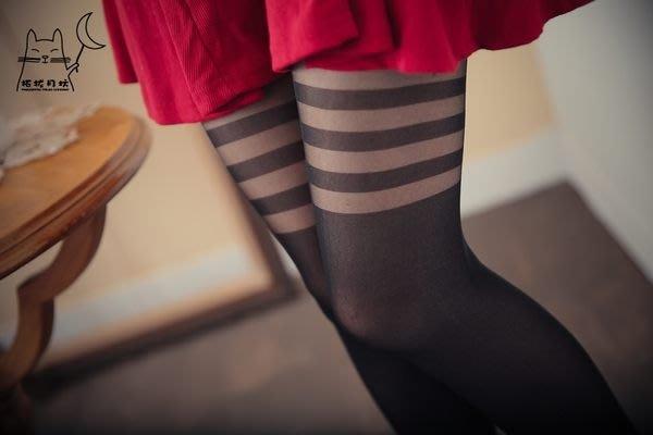 【拓拔月坊】日本知名品牌 M&M Frifla 三環 假膝上 褲襪 日本製~現貨!