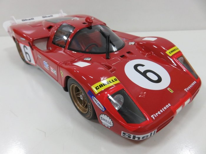 宗鑫貿易 CMR Models CMR028 Ferrari 512 S Long Tail 長尾版
