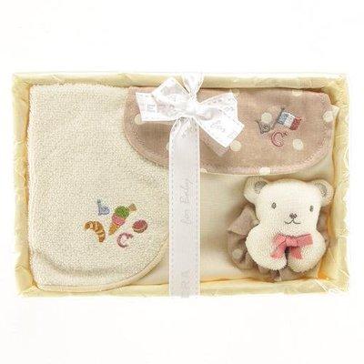 尼德斯Nydus~* 嚴選日本製 BE CERA 嬰兒/Baby用品 授乳圍兜 吸汗墊背巾 LOLO COCO禮盒組