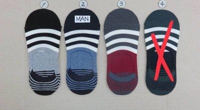 【傳說企業社】韓國直送 條紋拚色造型隱形男襪 流行時尚 正韓 短襪 腳踝造型襪 運動襪 學生襪 棉襪