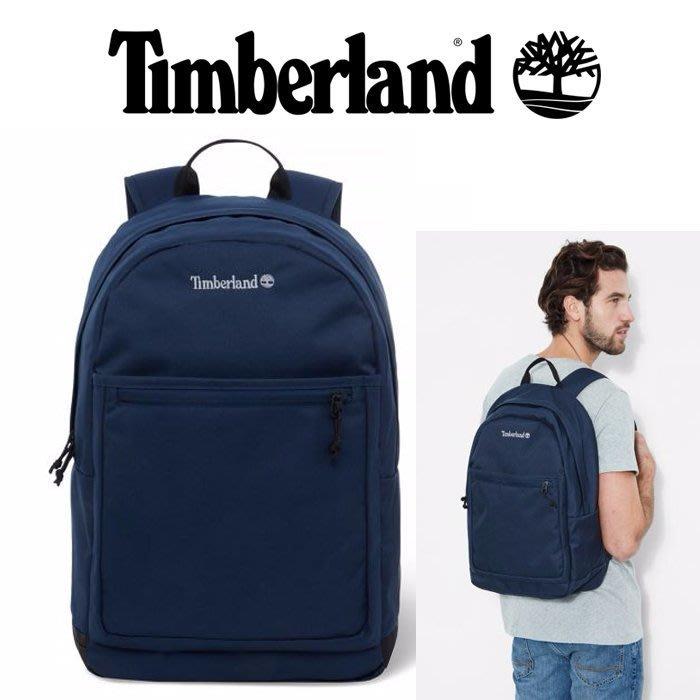↗小夫妻精品嚴選↖Timberland 多功能大容量後背包28L 筆電保護夾層 書包/電腦包/運動背包 藍色 現貨免運