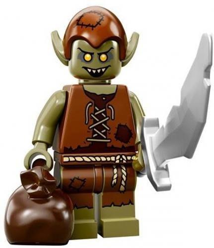 【LEGO 樂高】益智玩具 積木/ Minifigures人偶系列: 13代人偶包 71008 | 妖精大盜+大刀+袋子