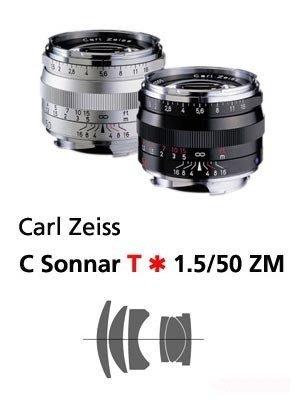 @佳鑫相機@(全新品)Zeiss 蔡司 ZM C-Sonnar T* 50mm F1.5 (銀)Leica M用 公司貨