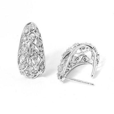 【JHT金宏總珠寶/GIA鑽石專賣】0.35克拉天然鑽石耳環/材質:PT900(JB19-A47)