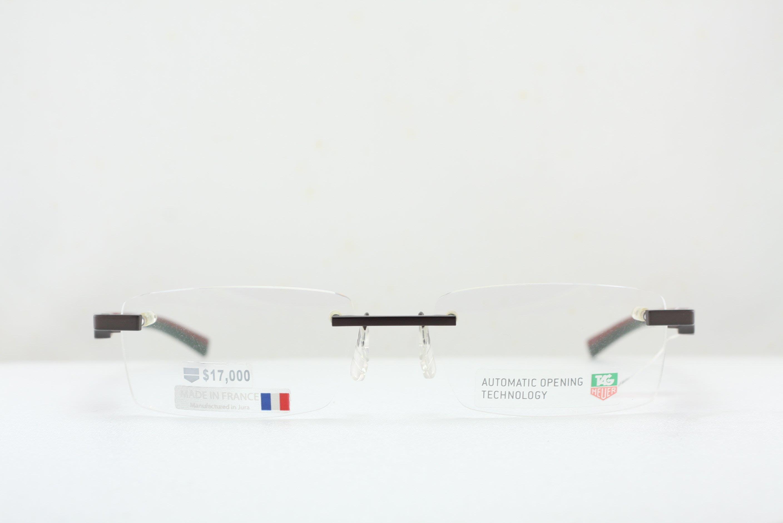 【台南名店久必大眼鏡】TAG Heuer 豪雅眼鏡 全程於法國產製運動流線輕盈保證原廠公司貨全面特價 TH0842(黑)