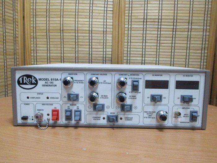 康榮科技二手測試儀器領導廠商TREK 615A-1 10KV AC/DC Generator