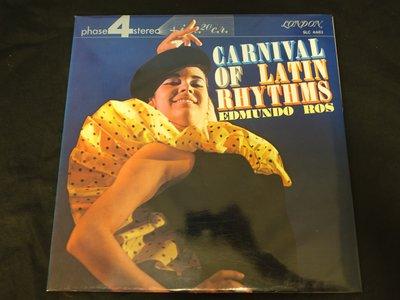 【柯南唱片】Edmundo Ros // Carnival Of Latin Rhythms>>日版LP