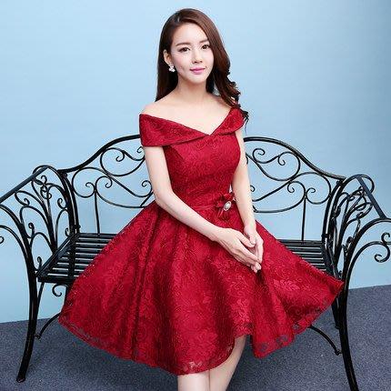 【曼妮婚紗禮服】3件免郵~結婚多款伴娘團小禮服 公主韓式婚紗小禮服 CA143