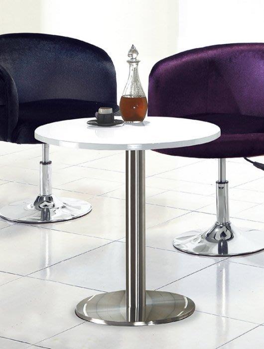 【DH】商品編號AB256-7商品名稱漆亮面玻璃面圓桌(圖一)細膩優質經典。主要地區免運費